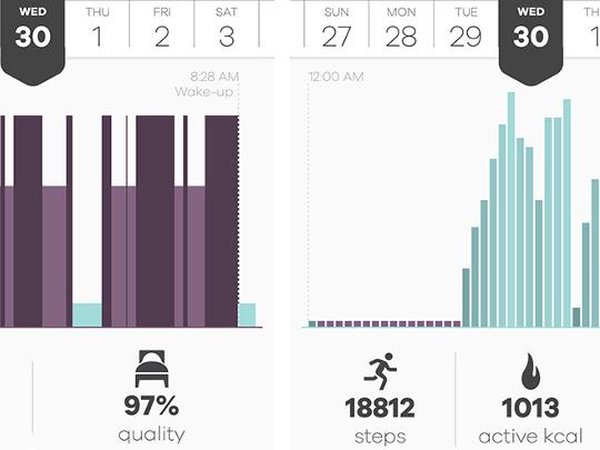 Health tracking app