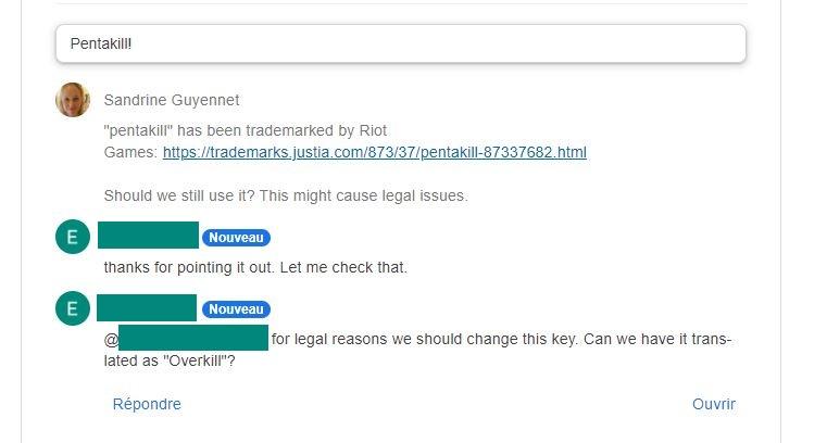 avoid legal battle